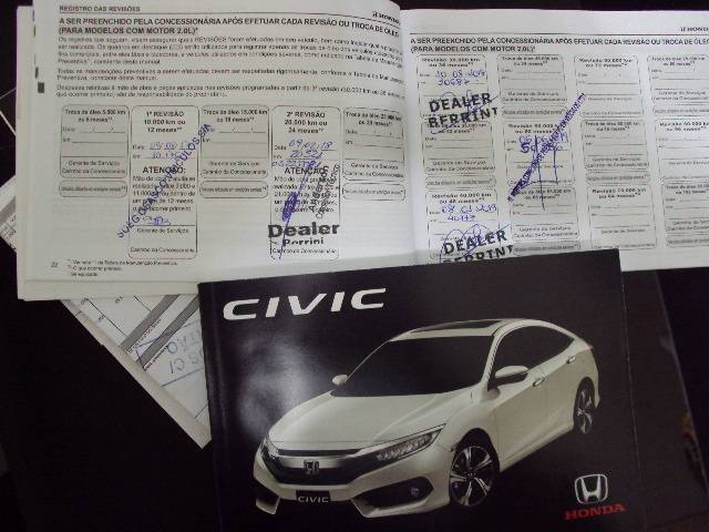 CIVIC EXL 2.0 - 2016/2017 - CINZA 18